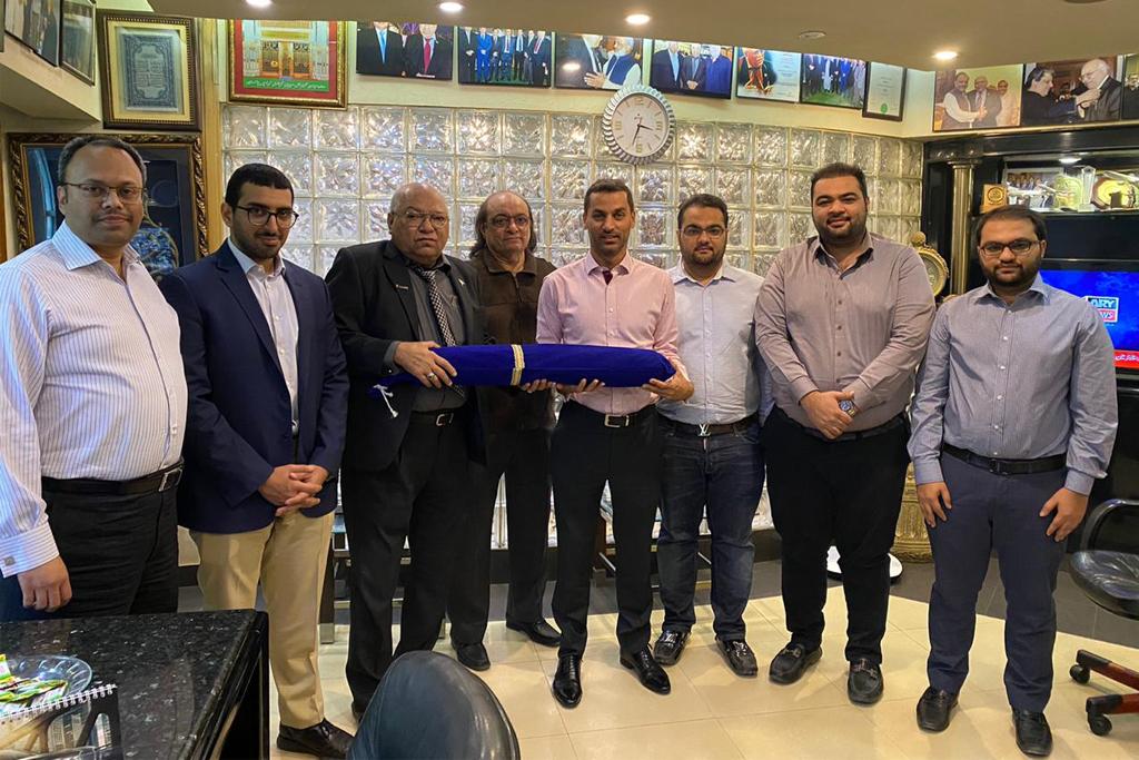 Emirates-Pakistan Seniors Visit   Polani's Group Head Office