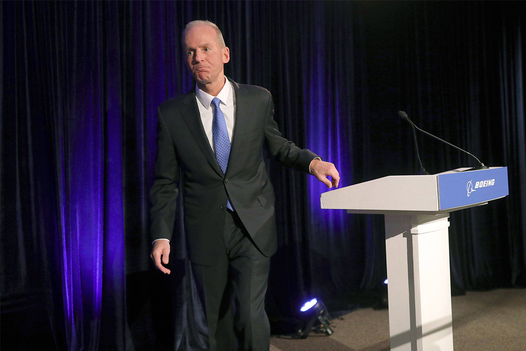 Ousted Boeing CEO   Dennis Muilenburg To Leave Company With $62m Payout