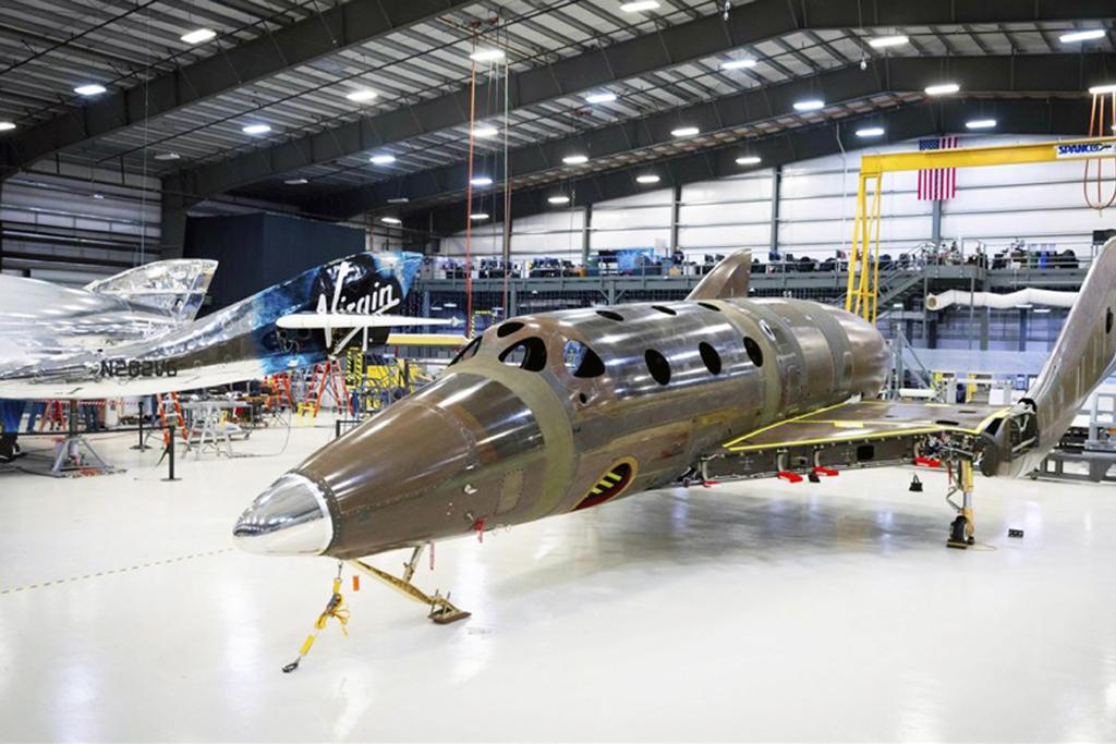 Virgin Galactic's Second Spaceship   Reaches Major Build Milestone