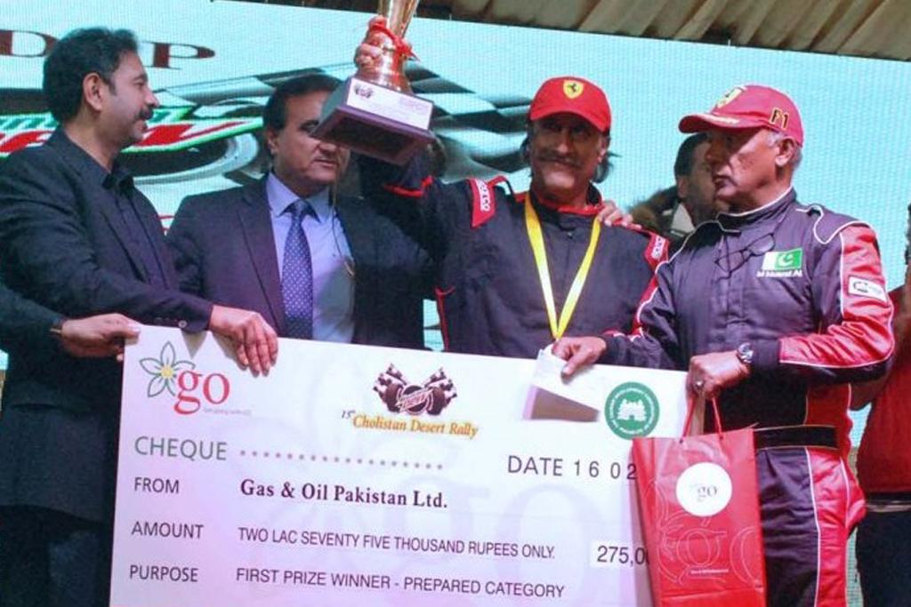 15th Cholistan Jeep Rally |  Magsi, Patel Retain The Titles
