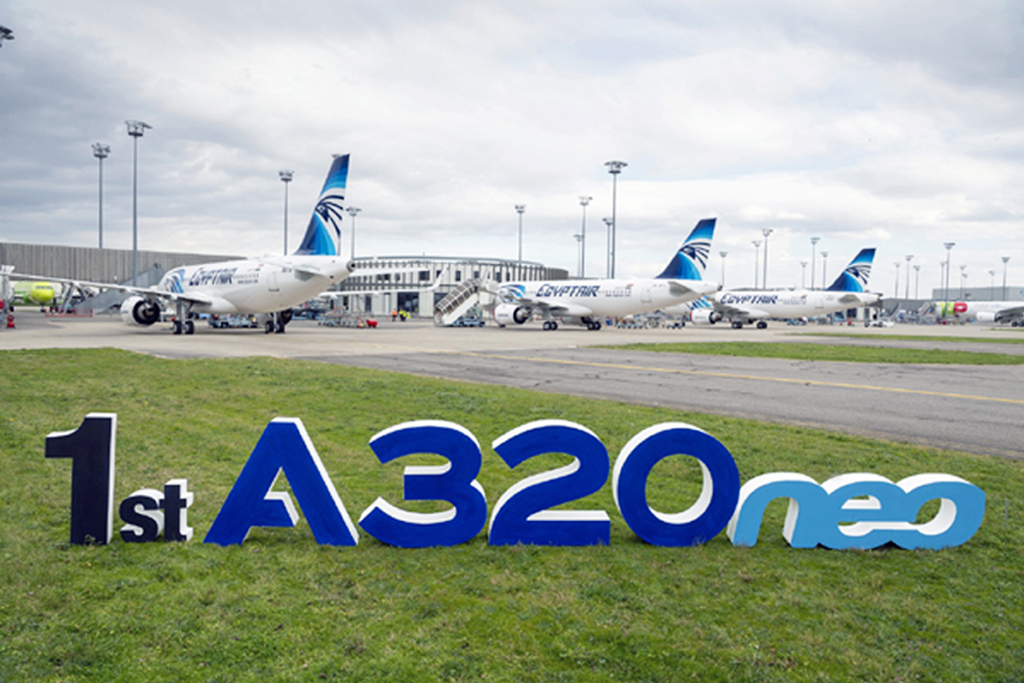 EgyptAir Adds | First Of 15 A320neo In Its Fleet