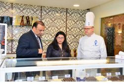 The Art Of Chocolate Making |Chef Mark Demonstrates At Karachi Marriott