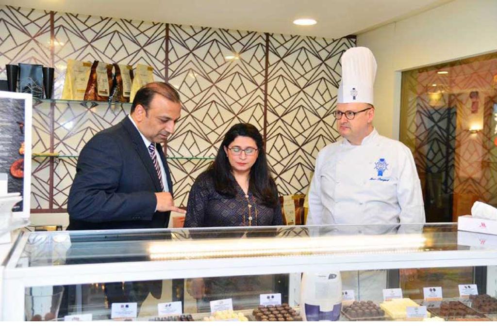 The Art Of Chocolate Making |Chef Mark Demonstrates At Karachi Marriott