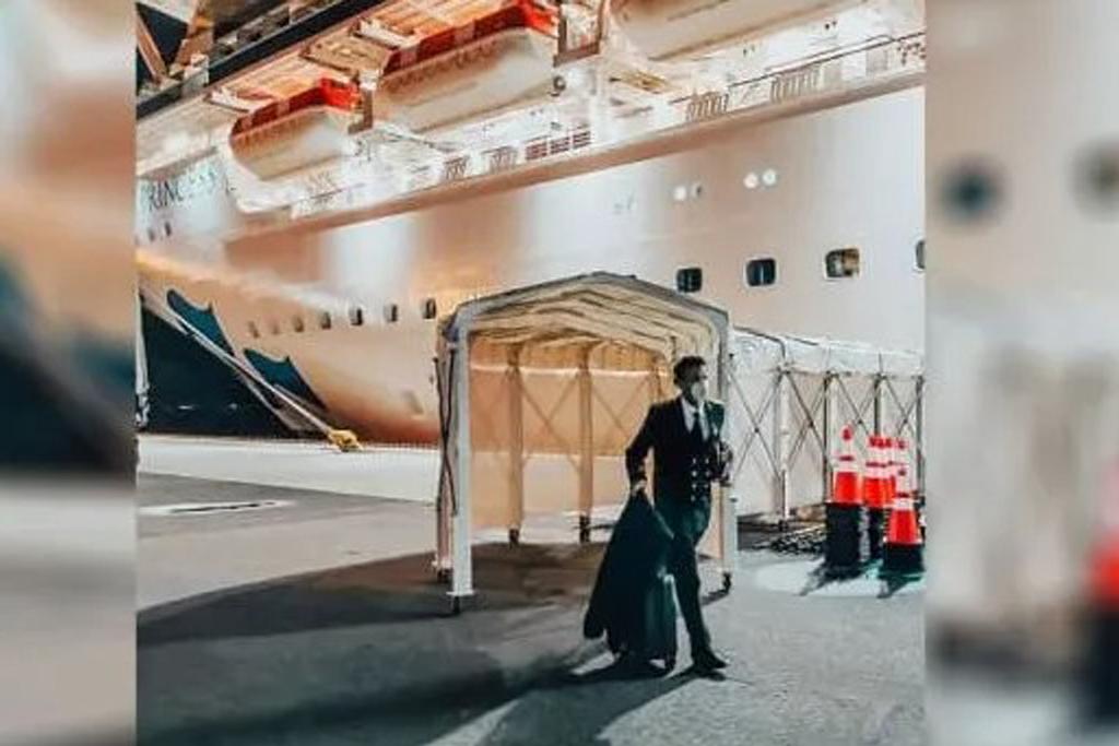 Hero At Home & Abroad.   Arma Stood Bravely At Coronavirus Cruise Ship