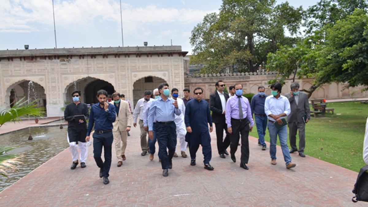 Restoration and Renovation Task | Punjab Tourism Advisor Visit Shalimar Garden