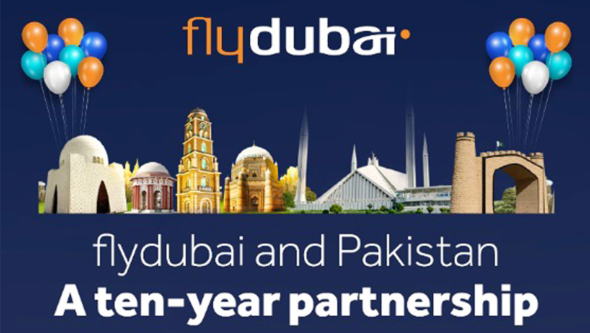 A Decade of Matchless Services | flydubai Celebrates Its 10th Anniversary of Pakistan Operations