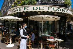 Government Lifts Restrictions | Parisians Return To Cafe Terraces
