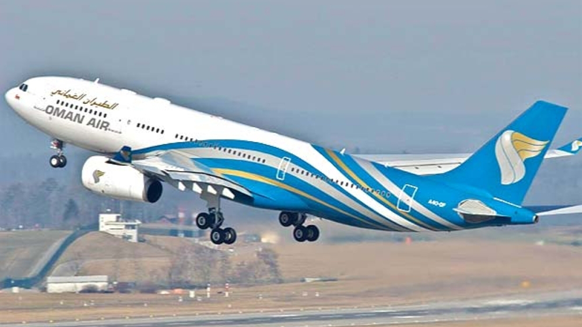 Oman Air To Operate |   Special Flights To London, Paris, And Cairo