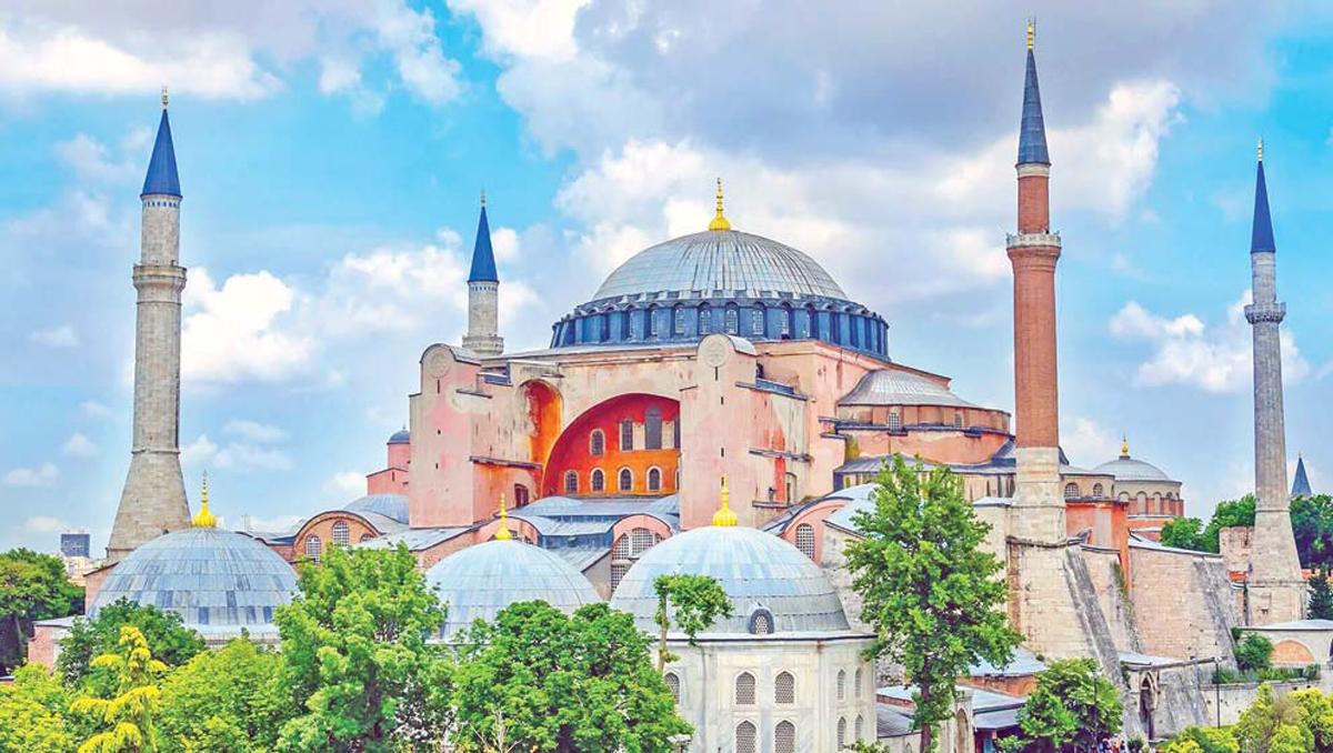 A Major Tourism Magnet |   Turkey Turns Hagia Sophia Back Into A Mosque