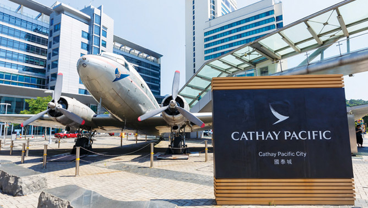 Cathay Pacific Flags | First-Half Loss of $1.3 Billion