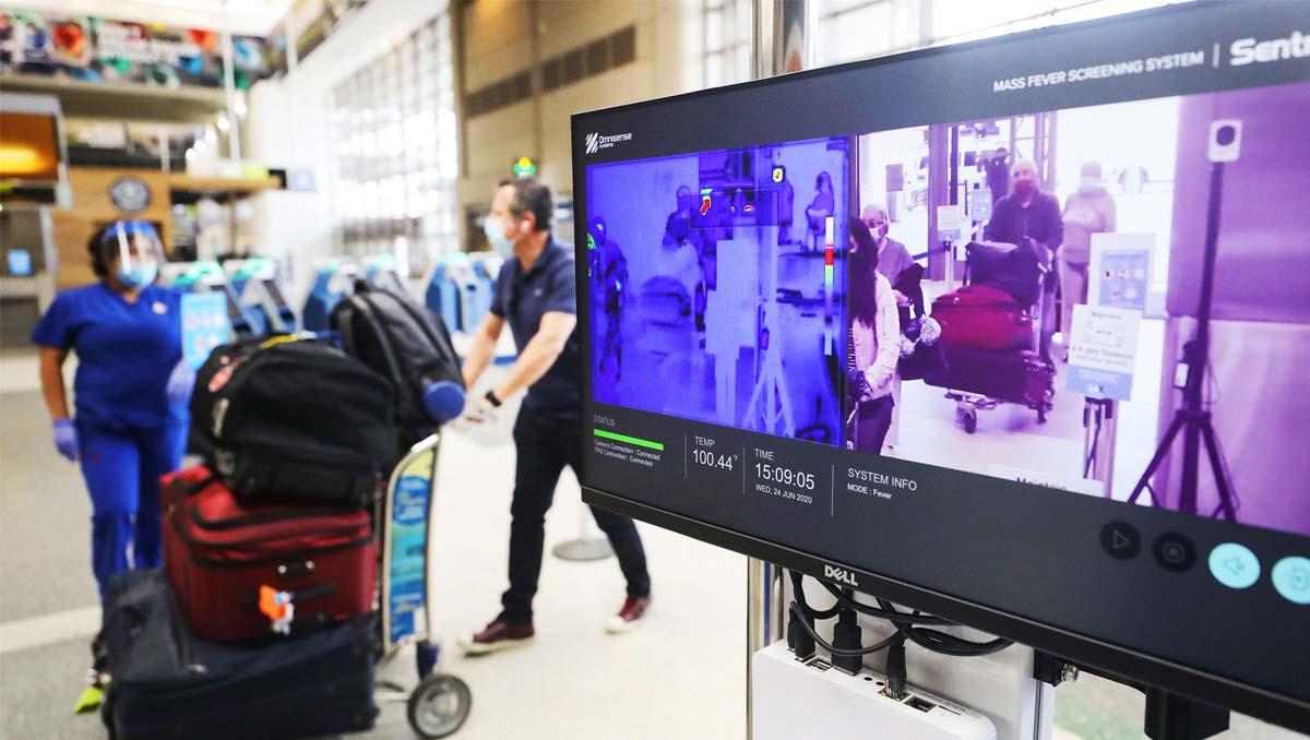 The US to Stop   Enhanced Passenger Covid-19 Screening