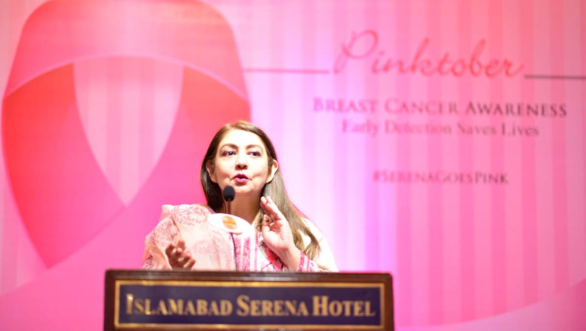 'Pinktober' | Serena Organises Breast Cancer Awareness Session