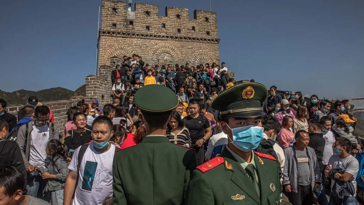 Domestic Tourism Revives |   Golden Week Saw More than 600 million Trips Across China
