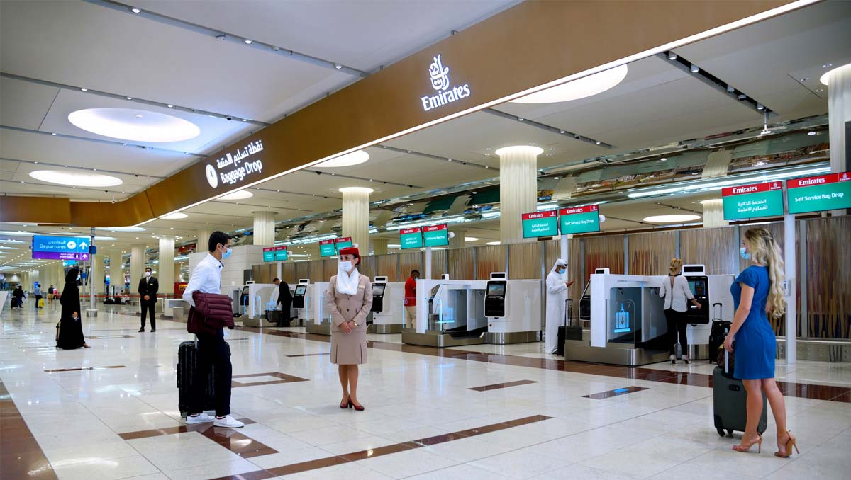 Emirates Offers | Self-Check-In Kiosks at Dubai Airport