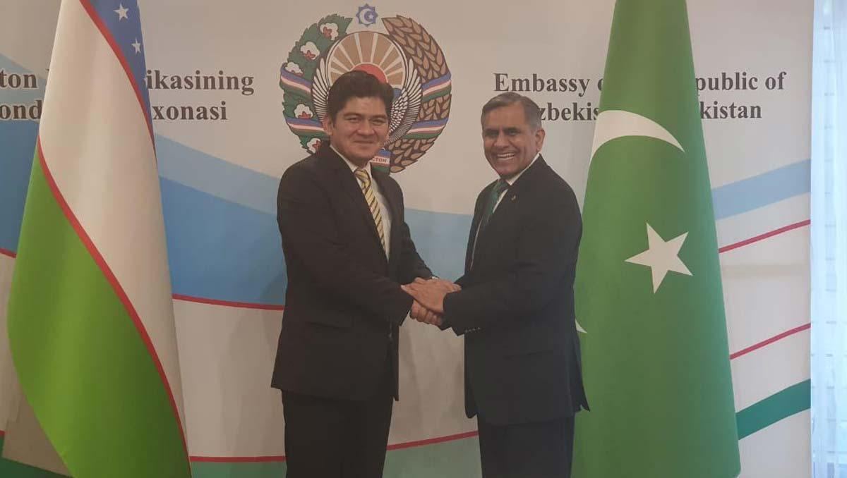 Arshad Malik Meets | Uzbek Ambassador