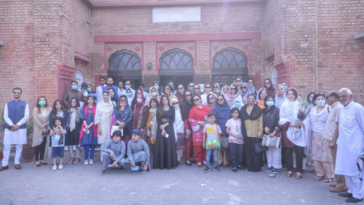 KP CTA Organizes   Leisure Tour Of Historic City Of Peshawar