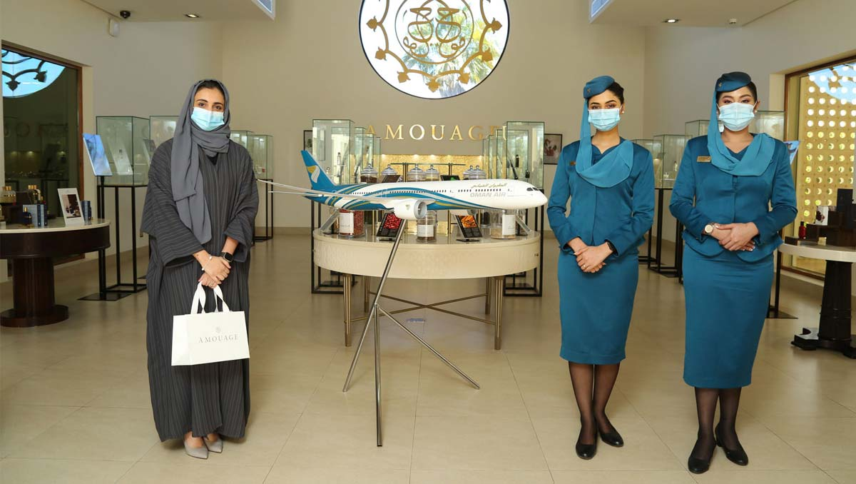 Oman Air And Amouage | Join Hands to Honour Omani Women