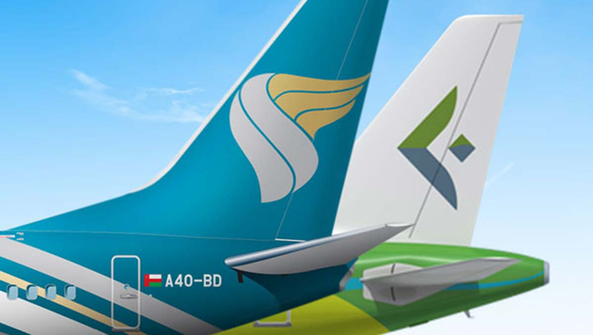 Oman Air Seals | Codeshare Agreement with Salam Air