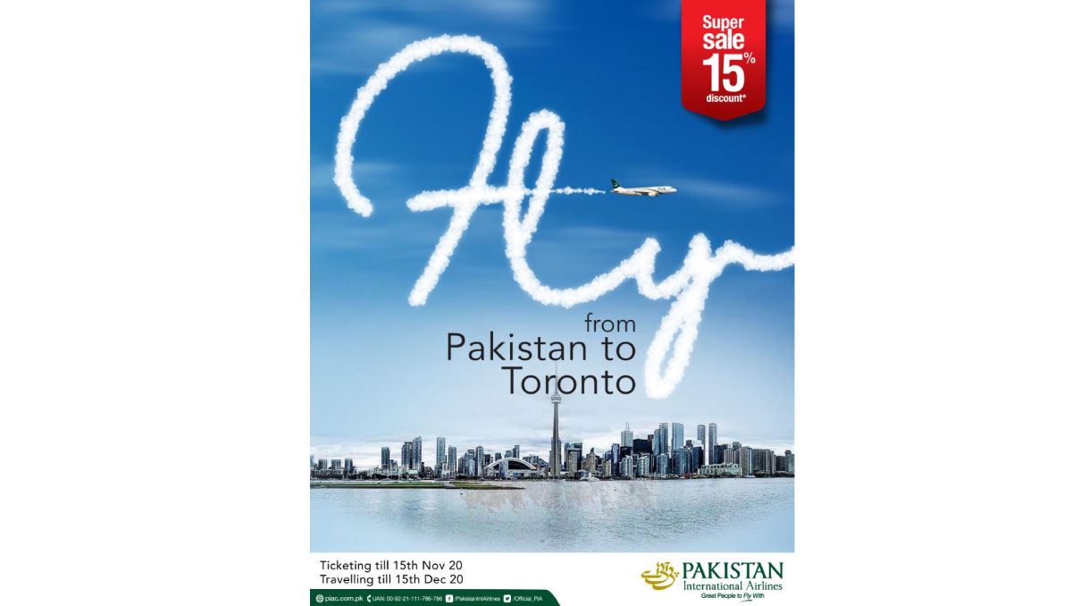 PIA Cuts | 15pc Fare for Canada Flights