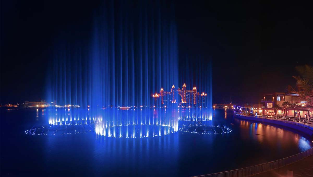 Palm Fountain Dubai |  Recognised As  The World's Biggest