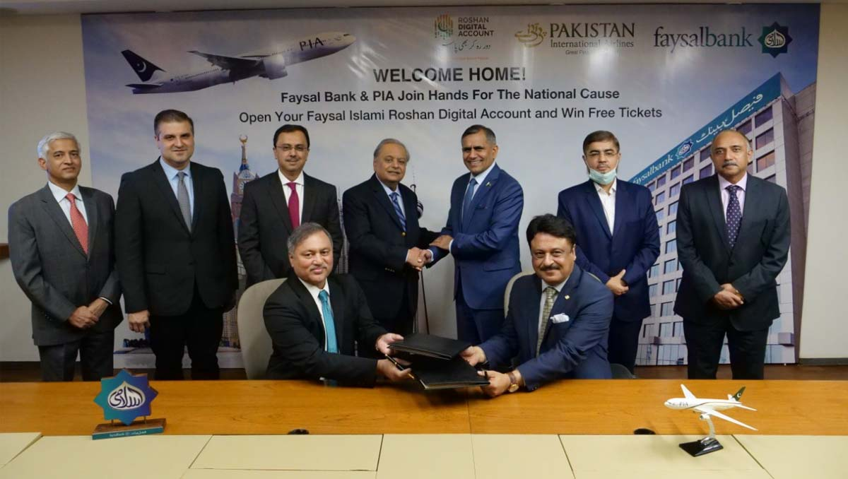 Promoting Roshan Digital Account | Faysal Bank & PIA Join Hands