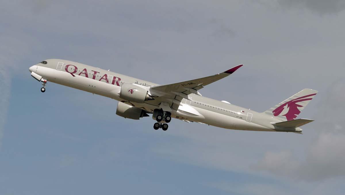 Qatar Airways Welcomes |   Three Airbus A350-1000 Planes To Fleet
