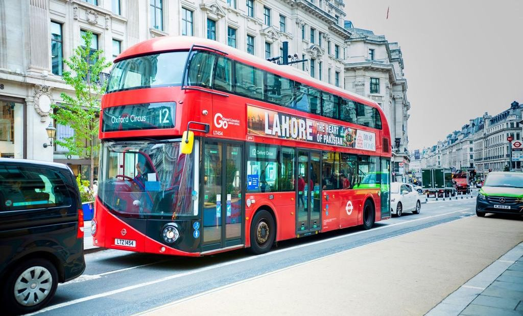 The heart of Pakistan London Buses Go Live